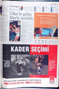 Zaman'in CHP Reklamı